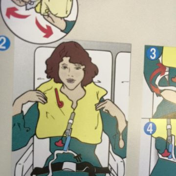 After 6 bottles of airline Chardonnay, Susan was fucking READY for the water landing